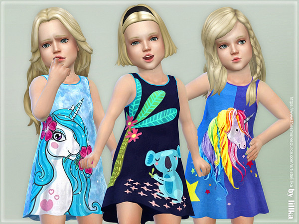 Toddler Dresses Collection P96 by lillka