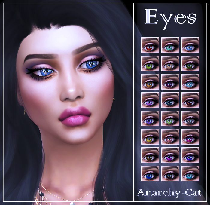 Eyes #4 by Anarchy-Cat
