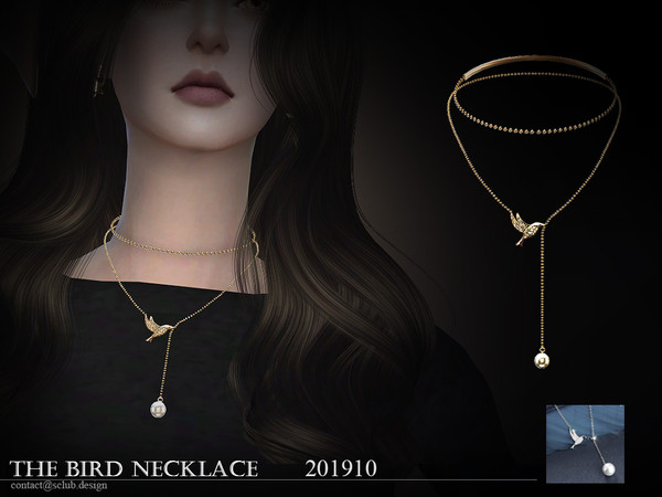 S-Club ts4 LL Necklace 201910