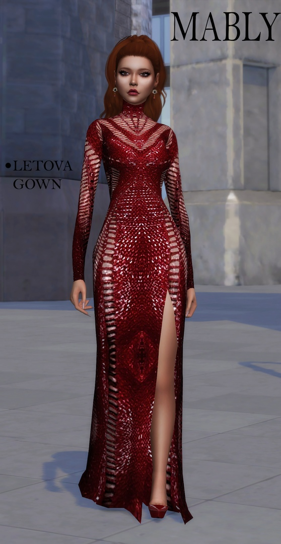 Mably - Letova Gown