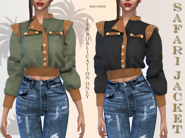Safari jacket by Sims House