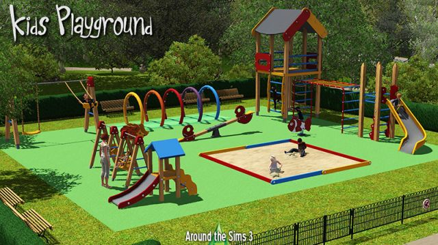 Kids Playground by Sandy