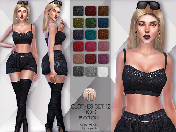 Clothes SET-12 (TOP) BD59 by busra-tr