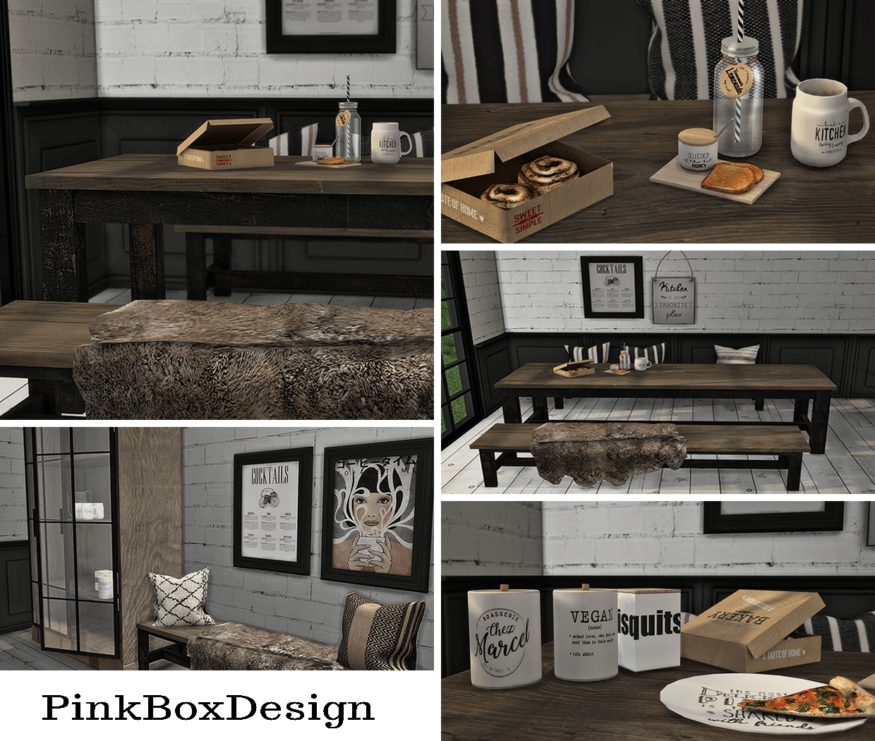 Pink Box Design Anye by Miscellaneous Creators