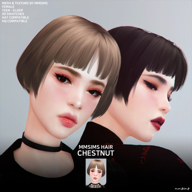 af Hair 24 Chestnut by MMSIMS