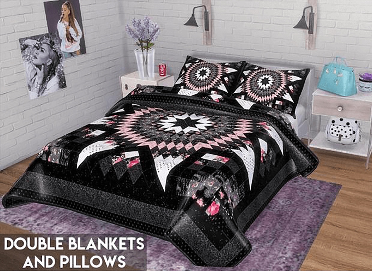 Double Blankets & Pillows by Descargas Sims