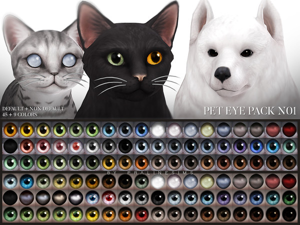 Pet Eye Pack N01 by Pralinesims
