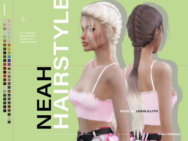 Neah Hairstyle by Leah Lillith