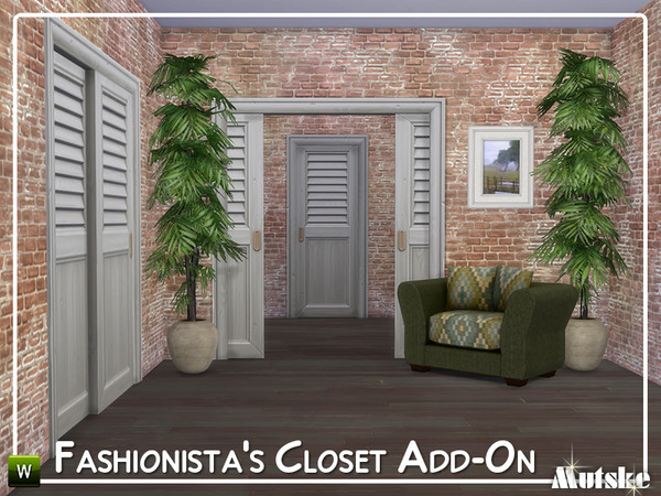 Fashionista Closet Add-on by mutske