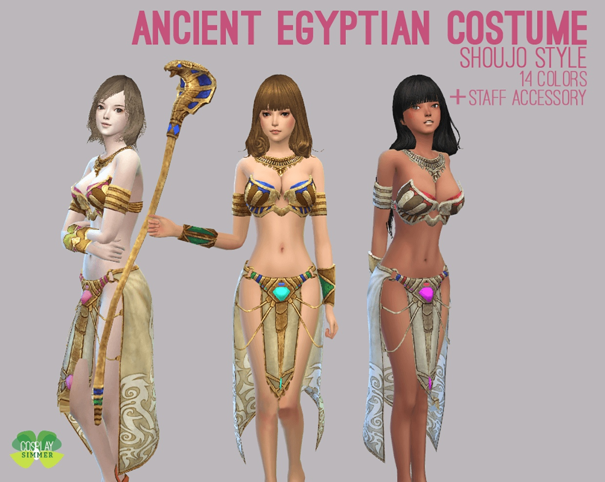 Ancient Egyptian Costume by Cosplay Simmer