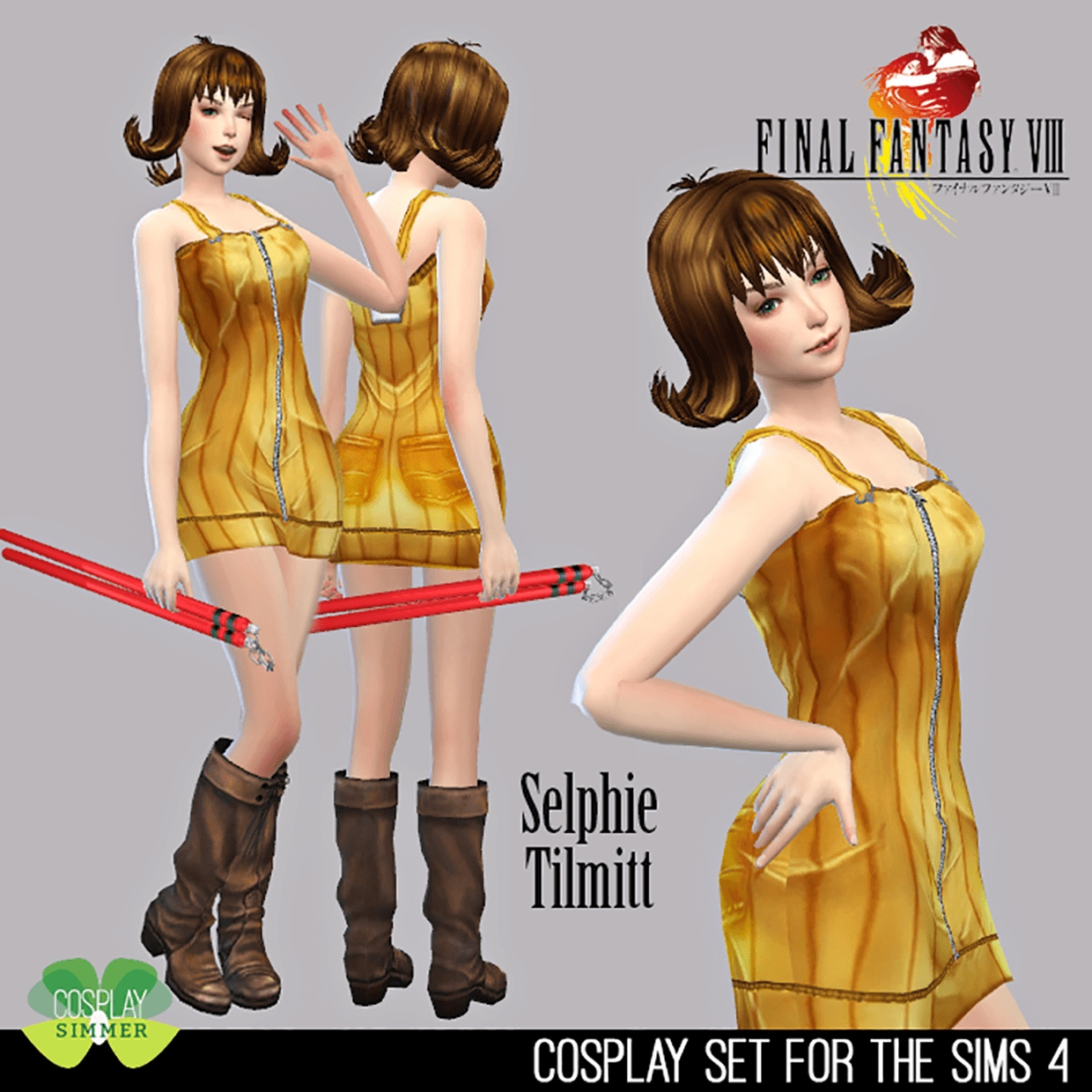 Final Fantasy VIII Selphie Tilmitt by Cosplay Simmer