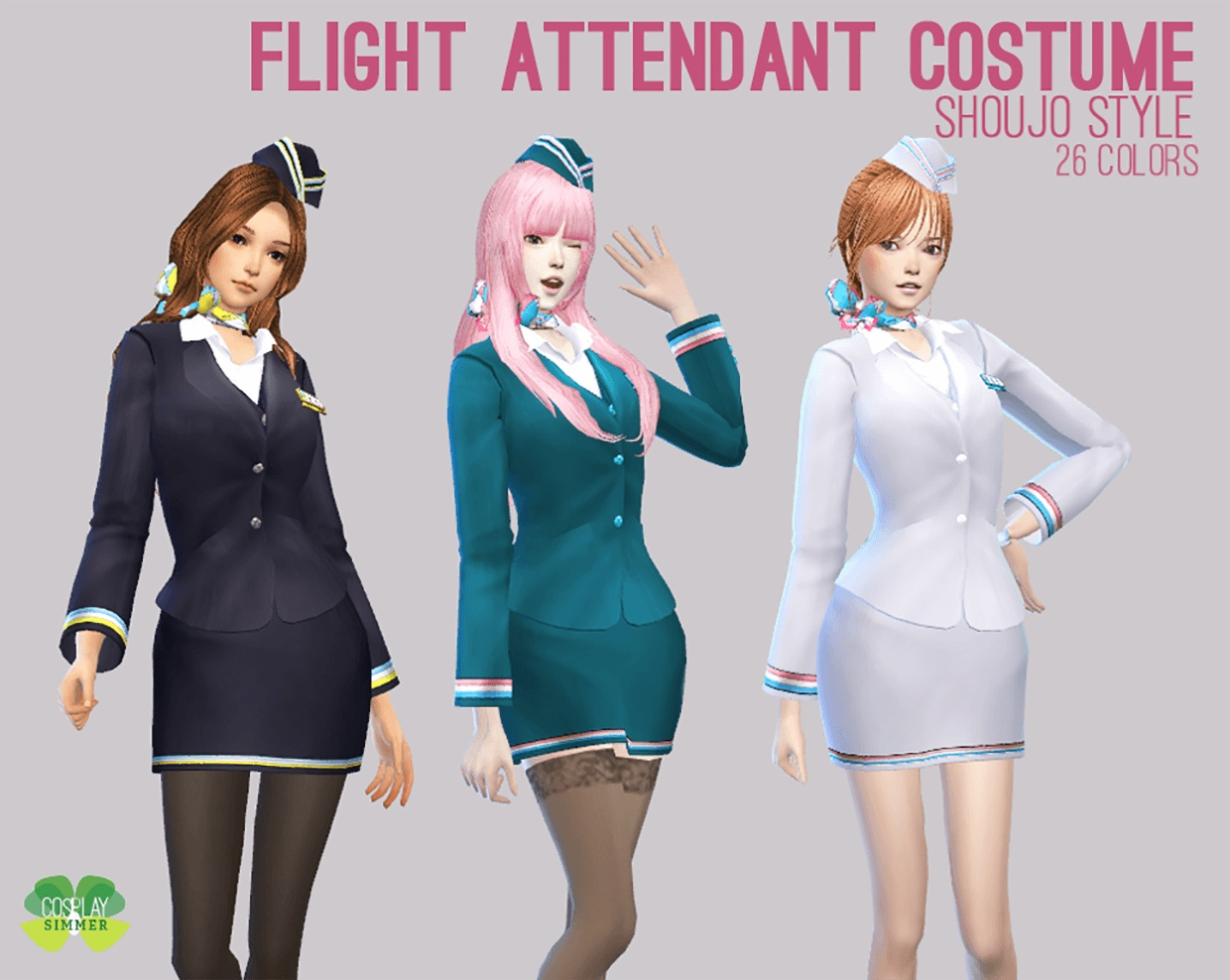 Flight Attendant Costume by Cosplay Simmer