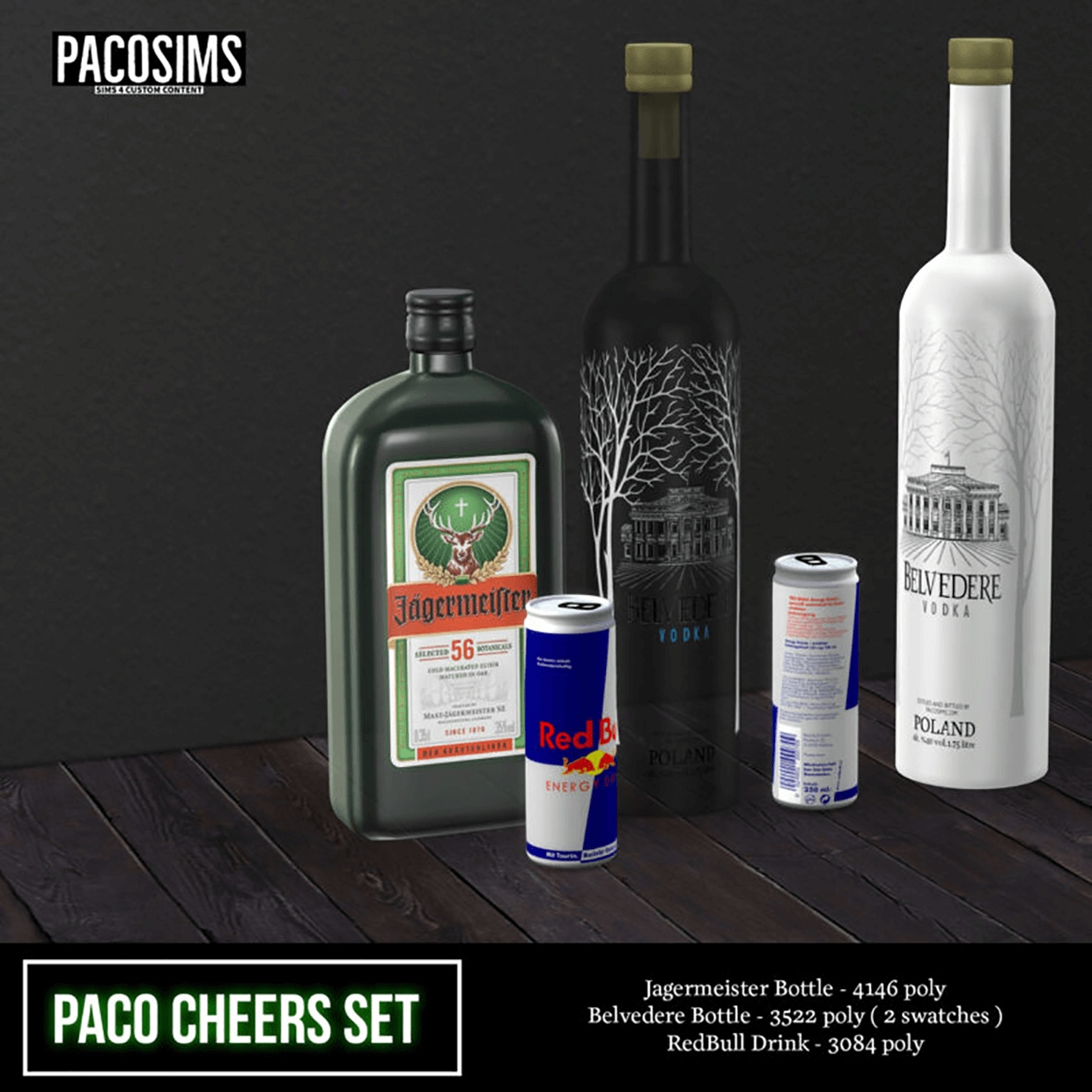 Cheers set by PacoSims
