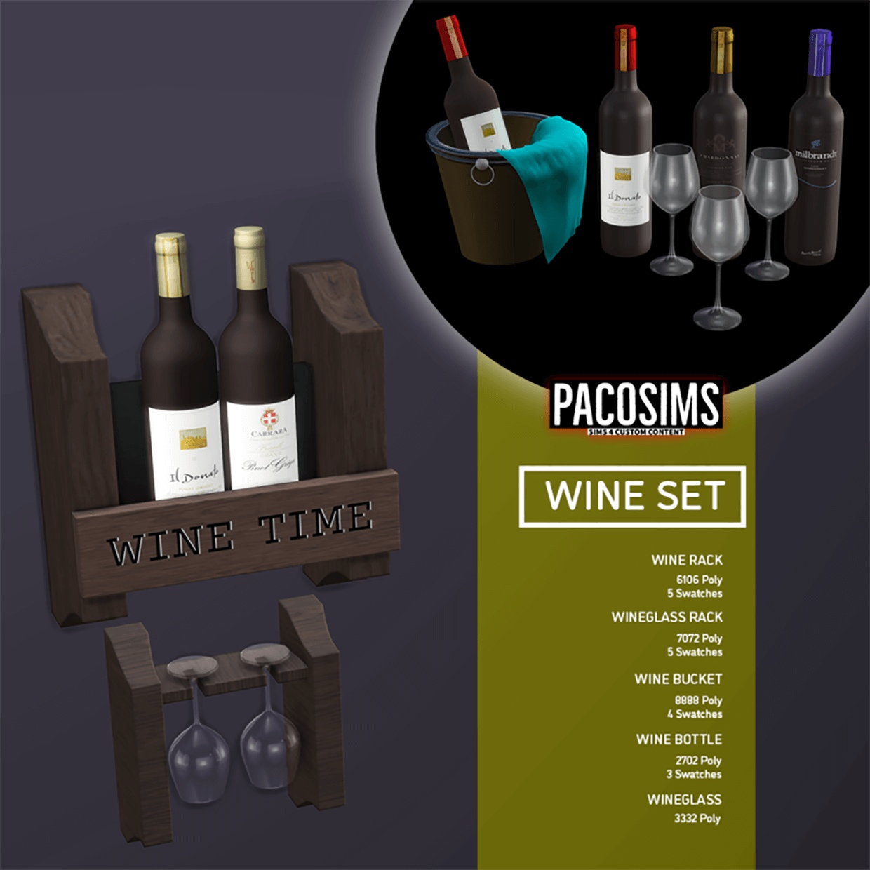 Wine set by PacoSims