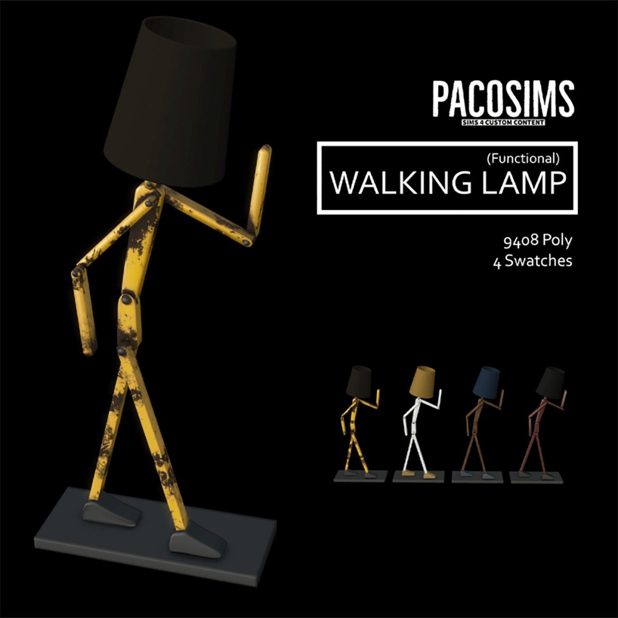 Walking lamp by PacoSims