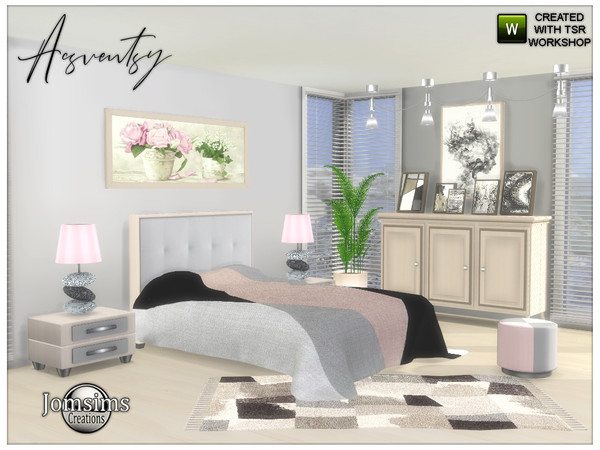 Acsventsy bedroom by jomsims