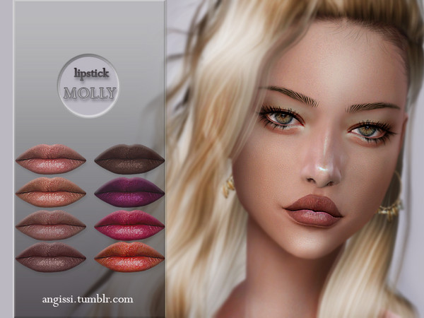 lipstick MOLLY by ANGISSI