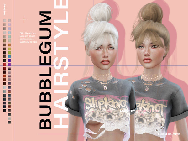 Bubblegum Hairstyle by Leah Lillith