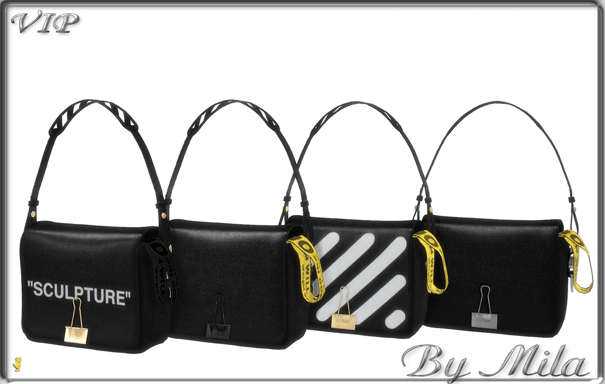 Off White Bag PP by Mila Smith