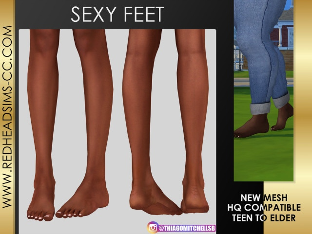SEXY FEET 3D by redheadsims
