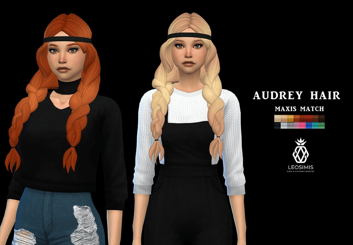 Audrey hair mm by Leo-Sims