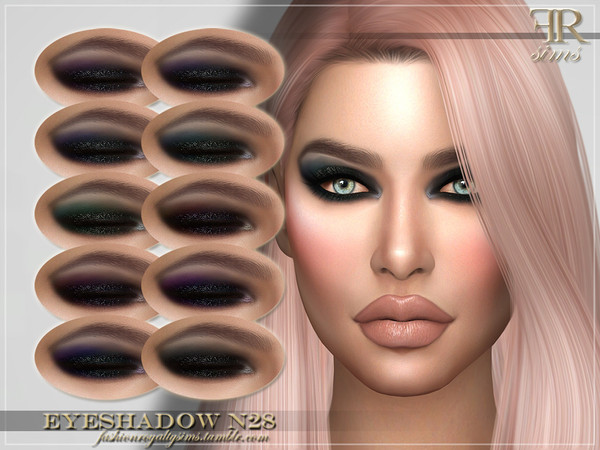 FRS Eyeshadow N28 by FashionRoyaltySims