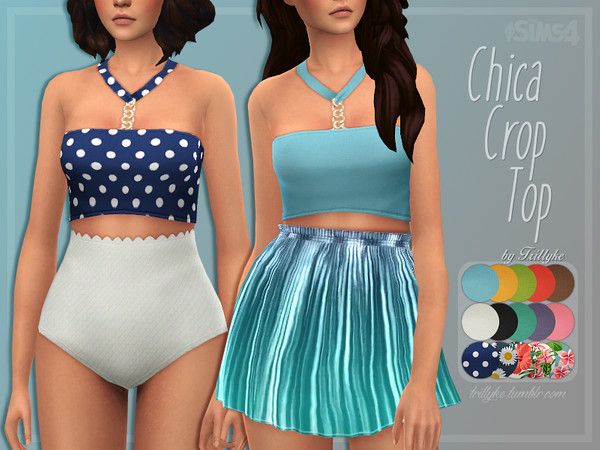 Trillyke - Chica Crop Top