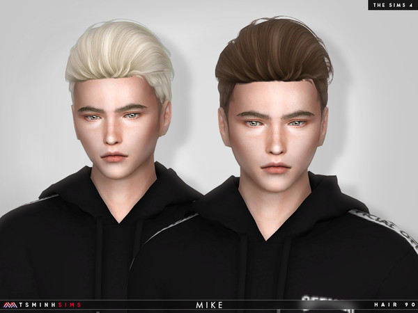 Mike ( Hair 90 ) by TsminhSims