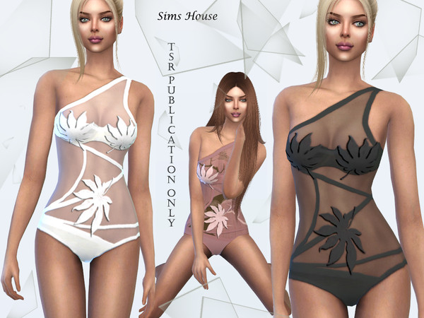 Tropics swimsuit by Sims House