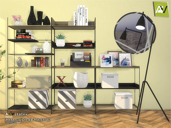 Myrasol Office Materials by ArtVitalex
