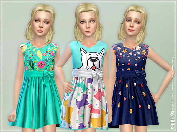 Girls Dresses Collection P128 by lillka