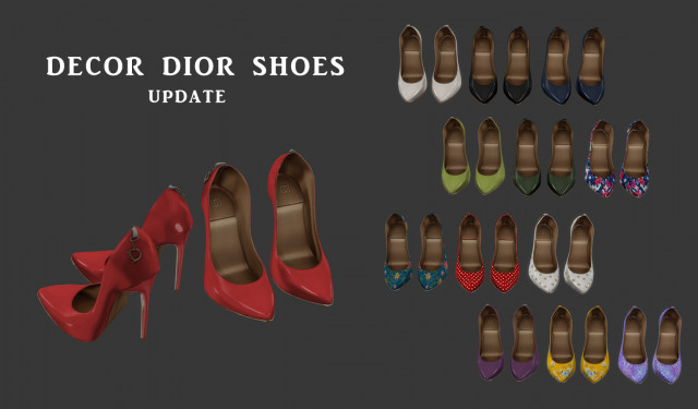 Dior Shoes by Leo-Sims