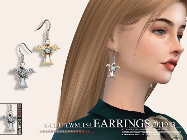 S-Club ts4 WM EARRINGS 201913