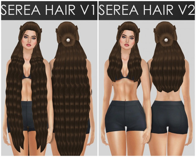 SEREA HAIR by redheadsims