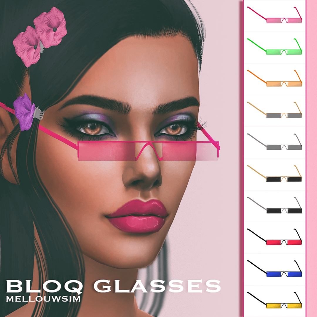 Bloq Glasses by MellouwSim