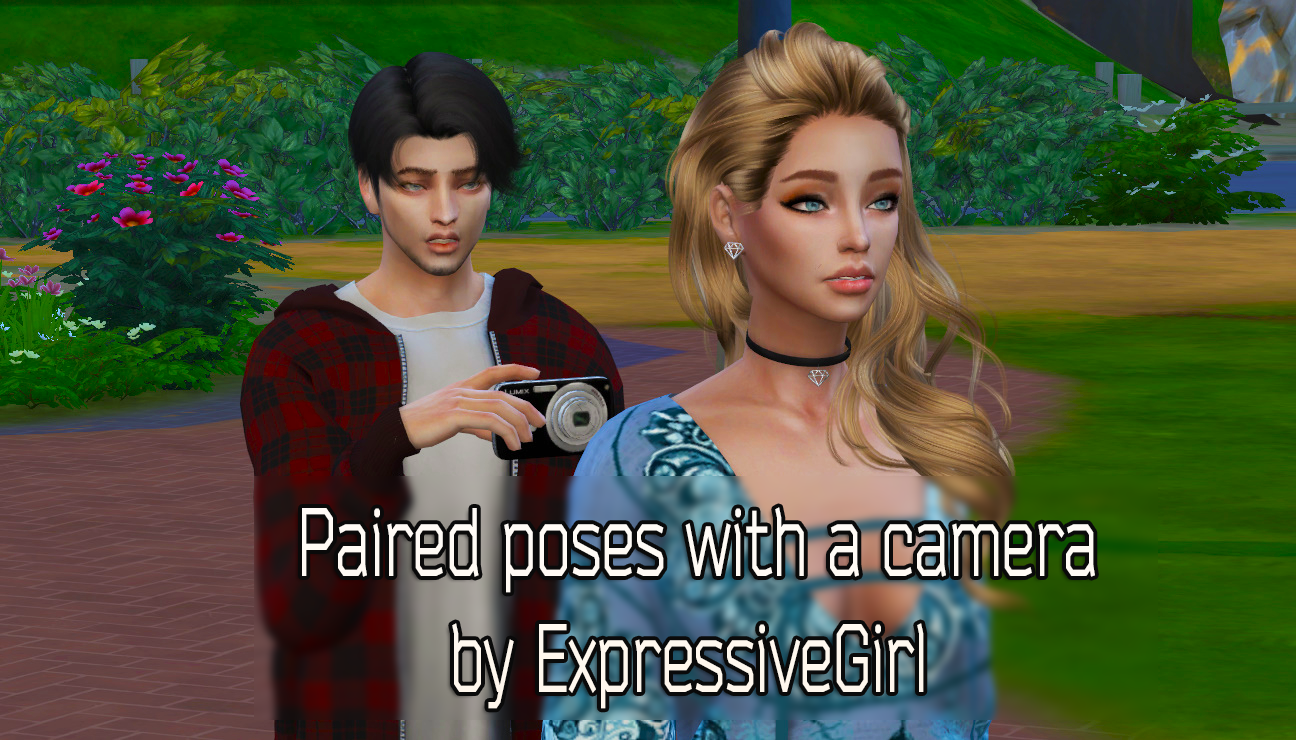 Paired Poses Pack 1 with a camera by ExpressiveGirl