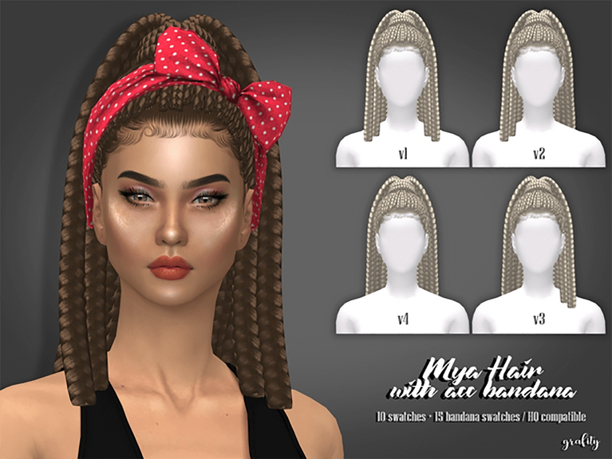 Mya Hair by Grafity-CC