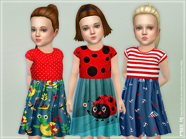 Toddler Dresses Collection P102 by lillka
