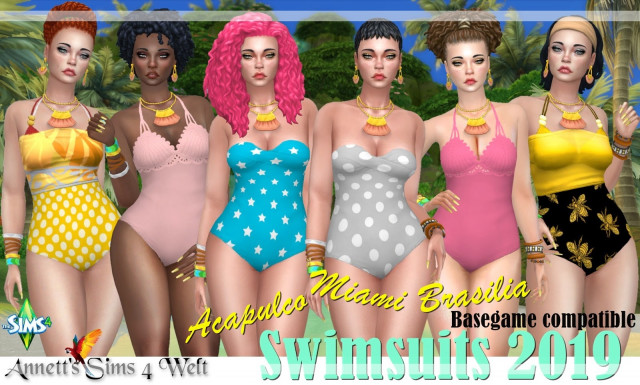 Swimsuits 2019 - Acapulco/Miami/Brasilia by Annett85