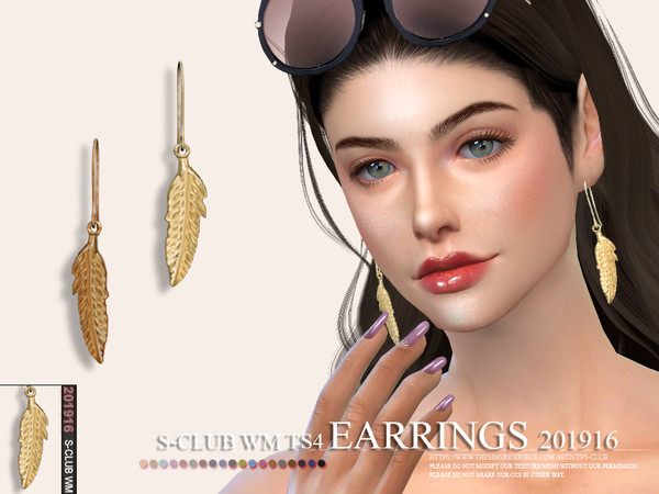 S-Club ts4 WM EARRINGS 201916