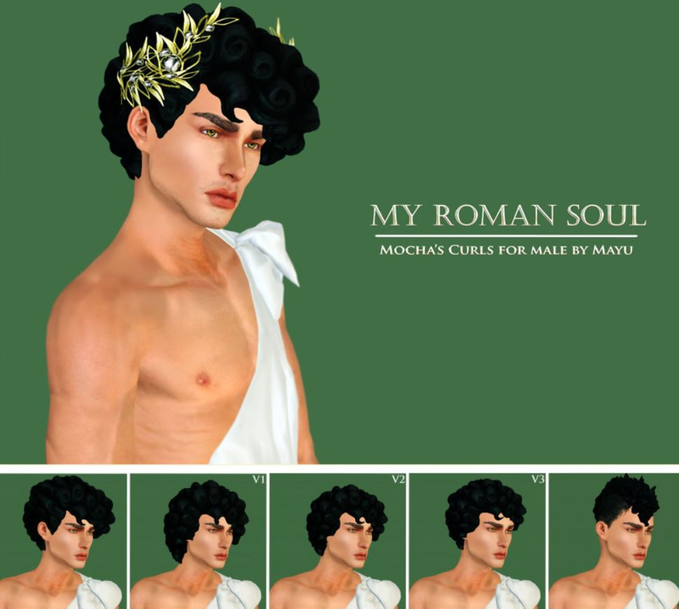 Roman Soul - Curls Pack by Mayu