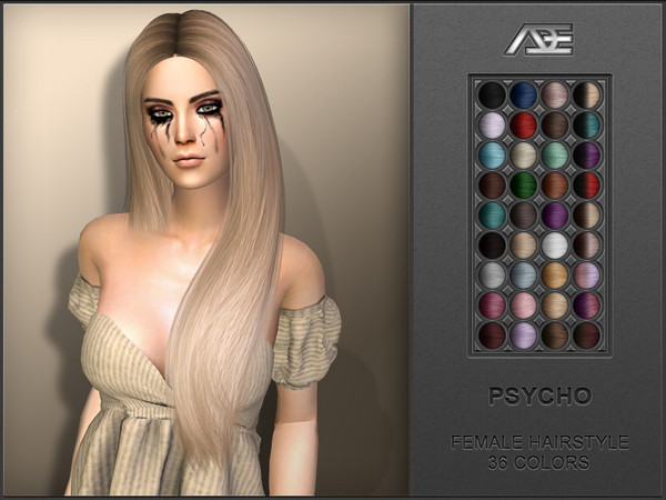 Psycho (Hairstyle) by Ade_Darma