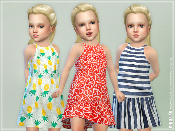 Toddler Dresses Collection P103 by lillka