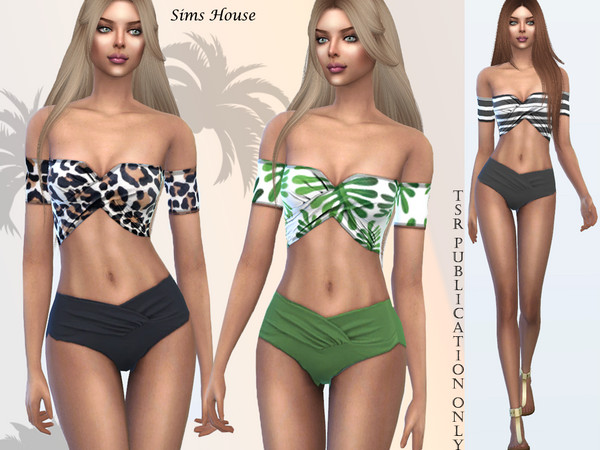 Tropics separate swimsuit by Sims House