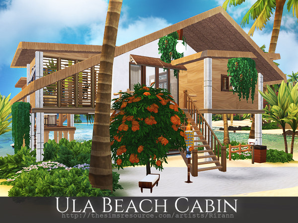 Ula Beach Cabin by Rirann