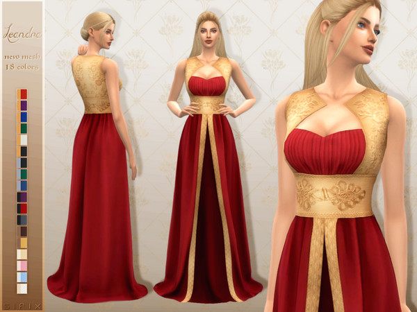 Leandra Gown by Sifix
