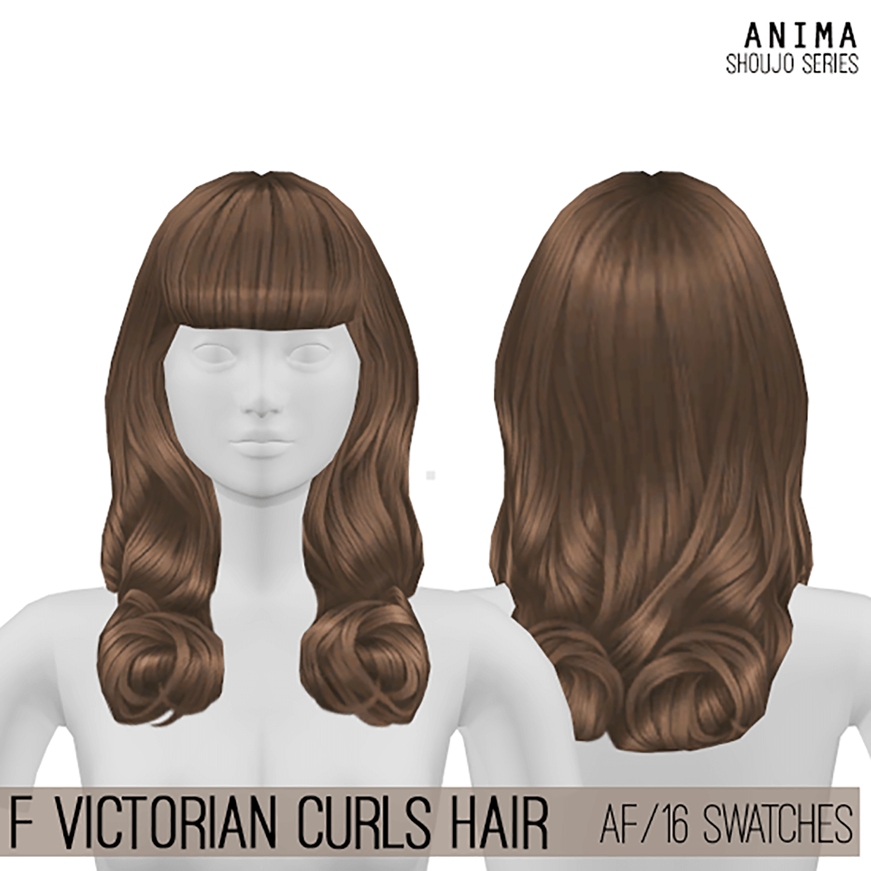 F_Victorian Curls Hair by Cosplay Simmer