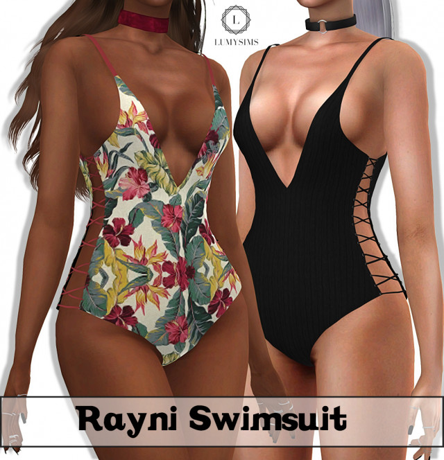 RAYNI SWIMSUIT by Lumy-sims