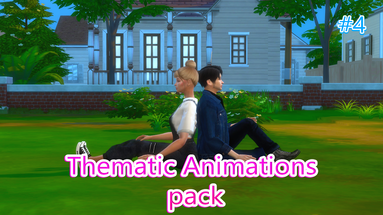 Thematic Animations pack 4 by ExpressiveGirl