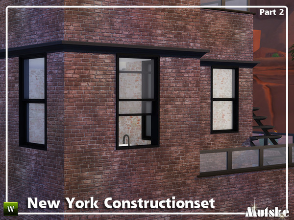 New York Constructionset Part 2 by mutske